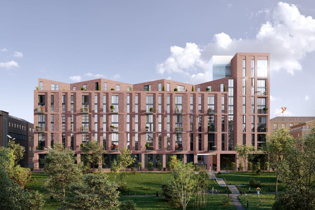 Manchester Apartments Mount Yard CGI