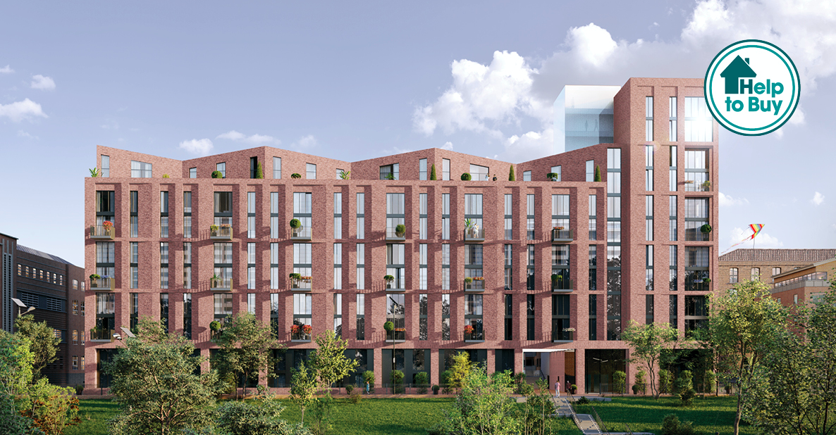 Manchester Apartments Mount Yard Help to Buy CGI